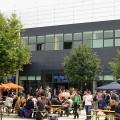 Mensa UniCampus Magdeburg Aussenansicht