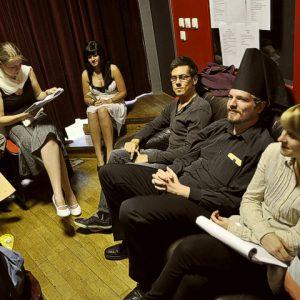 Theatre rehearsal