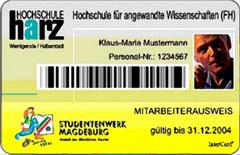 Chipkarte HS Harz klein