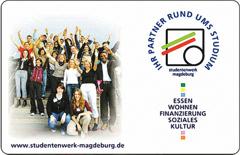 Chipkarte Studentenwerk Magdeburg (klein)