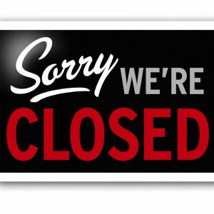 Sorry-we-are-closed