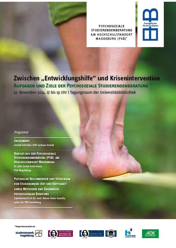"""Zwischen """"Entwicklungshilfe"""" und Krisenintervention - Aufgaben und Ziele der Psychosoziale Studierendenberatung"""