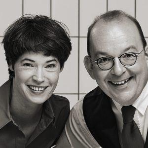 Eva Gritzmann und Denis Scheck