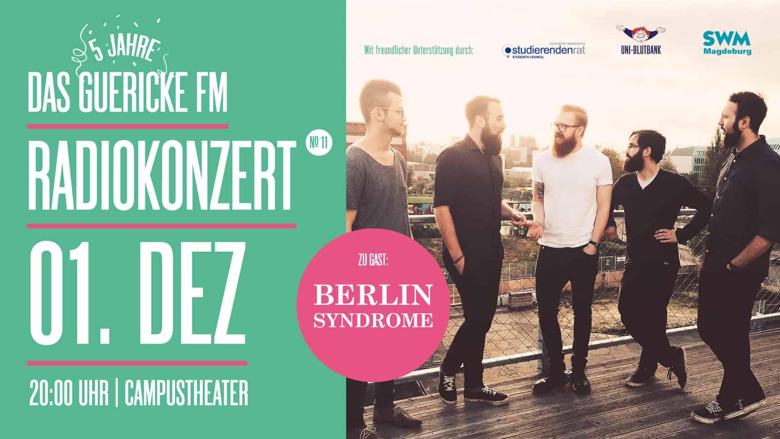 RADIOKONZERT Berlin Syndrom